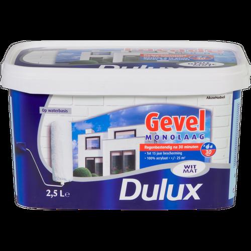 Peinture façade Dulux Monocouche blanc mat 2,5L