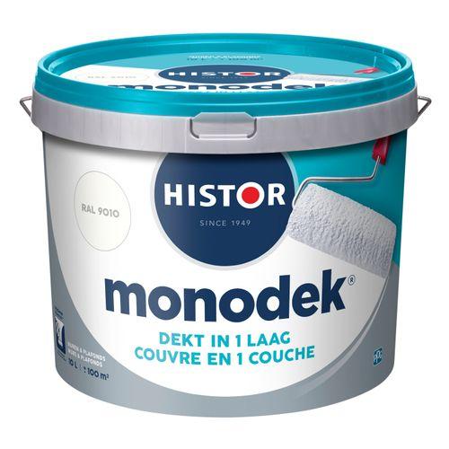 Histor latex Monodek mat RAL 9010 10L