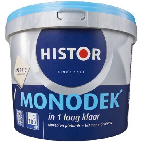 Histor latex Monodek mat RAL 9001 2,5L