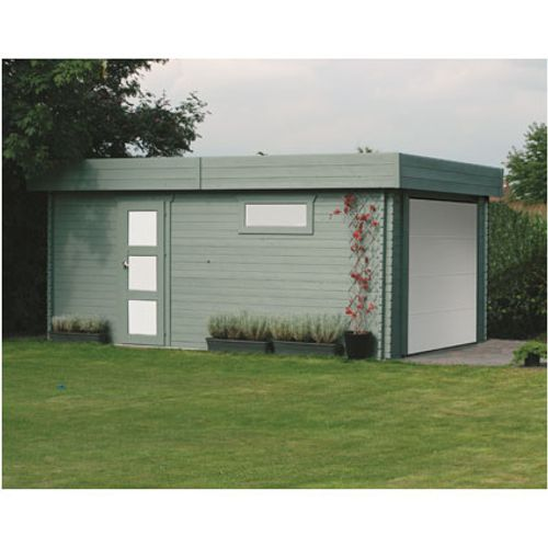 Solid garage Modern S8935 17,07m²