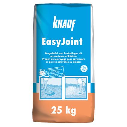 Knauf voegmiddel EasyJoint grijs 25 kg