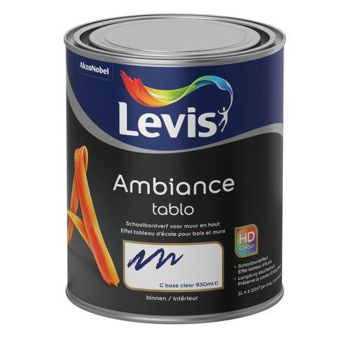 Peinture tableau Levis Ambiance Tablo base C extra mat 1L