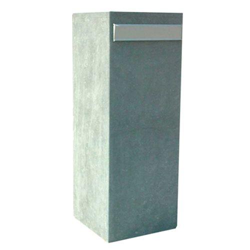 Boite aux lettres sur pied VASP 'Cordoba' pierre bleue belge