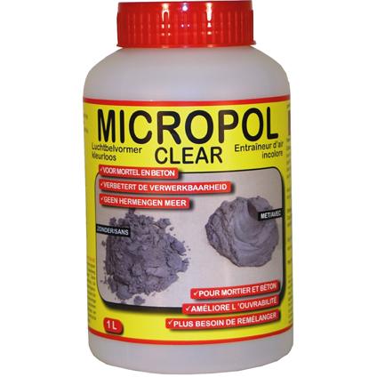 PTB-compaktuna luchtbelvormer 'Micropol clear' 1 L