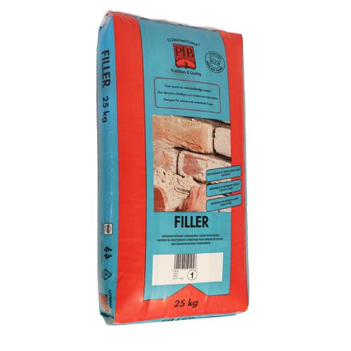 PTB voegmortel waterafstotend rood 25 kg