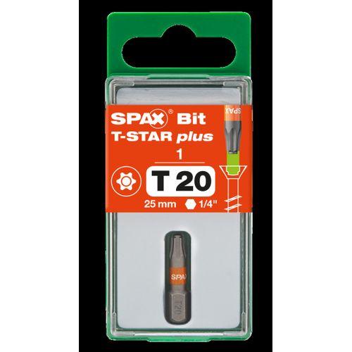 Spax bit T-Star plus T20