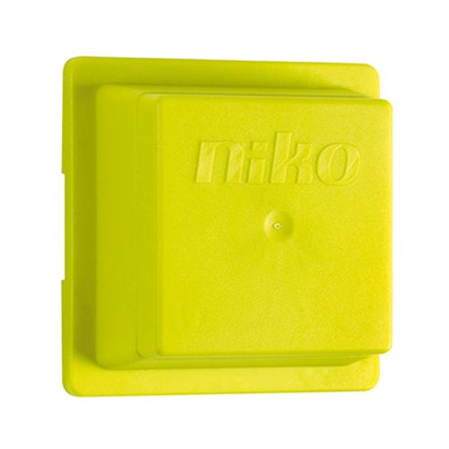 Niko beschermkap voor schakelmateriaal groen 5 stuks