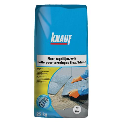 Colle pour carrelages Knauf 'Flex' blanc 5kg