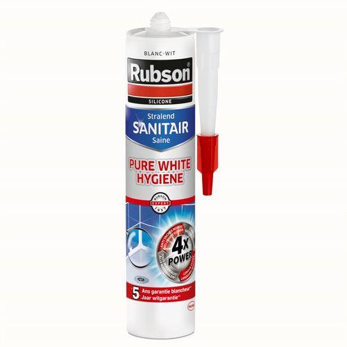 Silicone Rubson Sanitair Pure White Hygiene 280ml