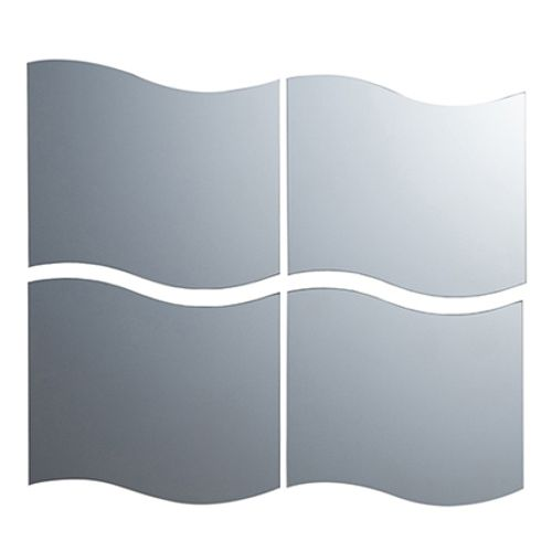 Pradel Pierre spiegel tegel wave 'Vaglia' 33 x 30