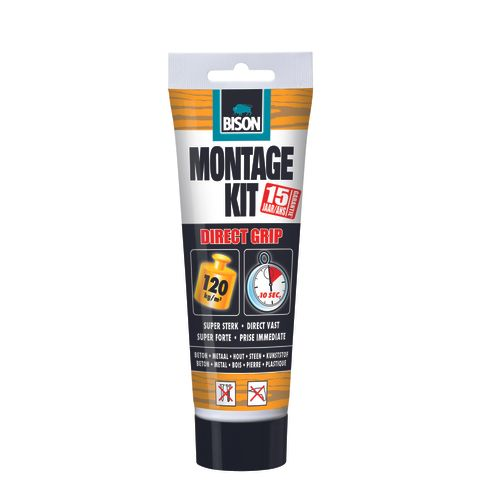 Bison montagekit Direct grip Tub 250g