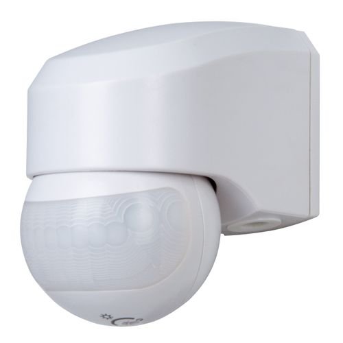 INFRAcontrol R 180 ° détecteur de mouvement infrarouge Kopp 3 fils blanc
