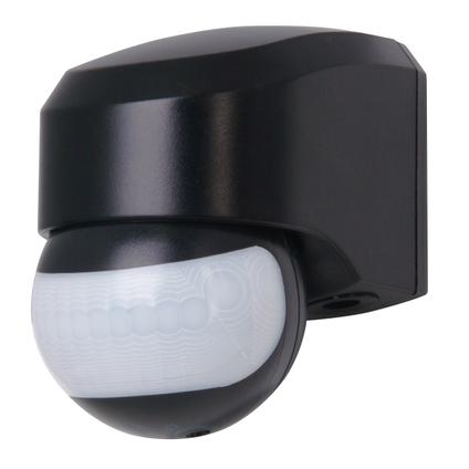 Kopp infracontrol bewegingssensor 180° zwart IP44