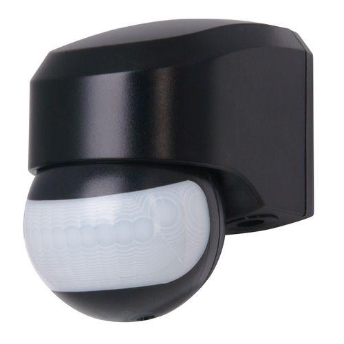 Infracontrol detecteur de mouvement 180° Kopp noir IP44