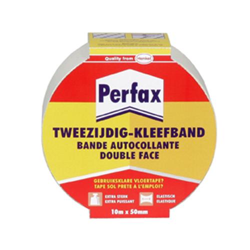 Bande adhésive double face Perfax elastique 10m