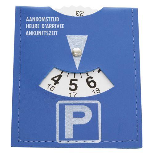Disque de stationnement Carpoint bleu