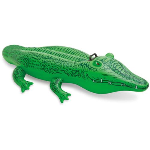 Crocodile gonflable Intex 168 cm