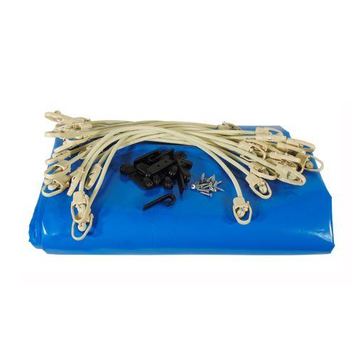 Bâche piscine Ubbink bleu 505x355cm