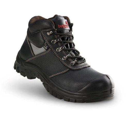 Chaussures de sécurité hautes Busters 'Builder' S3 SRC cuir noir T42