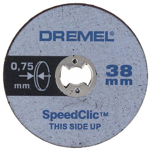 Disque à tronçonner Dremel S409JB 38 mm - 5 pièces