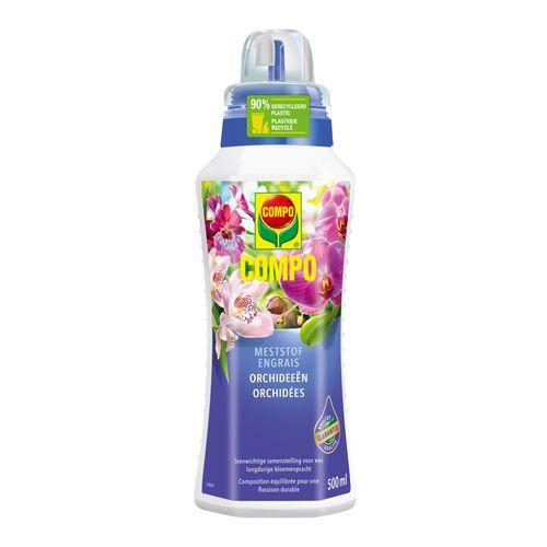 Engrais liquide orchidées Compo 500ml
