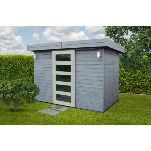 Solid  abri de jardin Lund bois 5,03m² 267x187cm