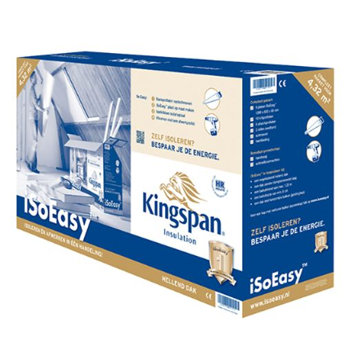 Kingspan dakisolatiepakket iSoEasy