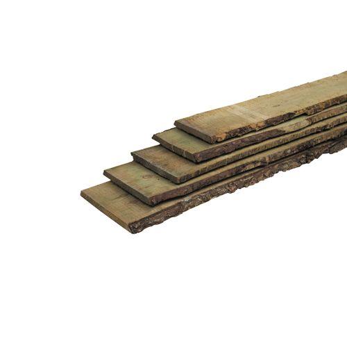 Schuttingplank schaaldeel grenen 1,9x18x250cm