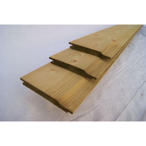 Schuttingplank vuren 1,8x14,5x300cm