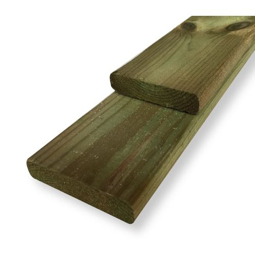 Schuttingplank grenen 1,6x9x180cm