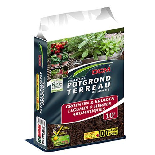 Terreau DCM 'Légumes & Herbes Aromatiques' 10 L