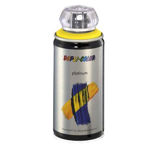 Laque Dupli-Color 'Platinum' jaune satin 150ml