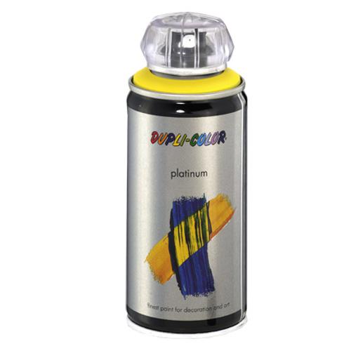Dupli-Color lak 'Platinum' geel satijn 150ml