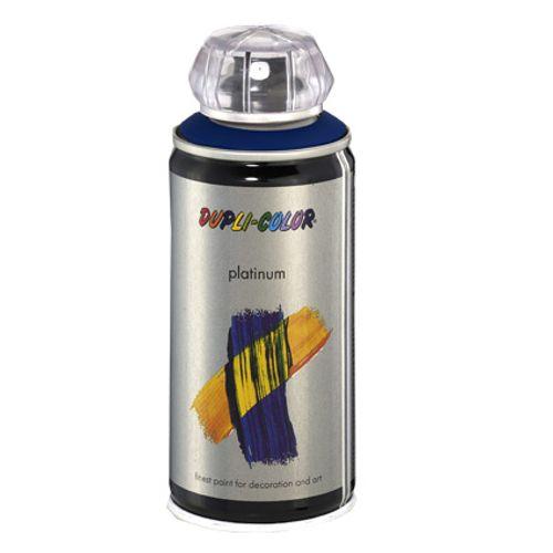 Laque Dupli-Color 'Platinum' bleu satin 150ml