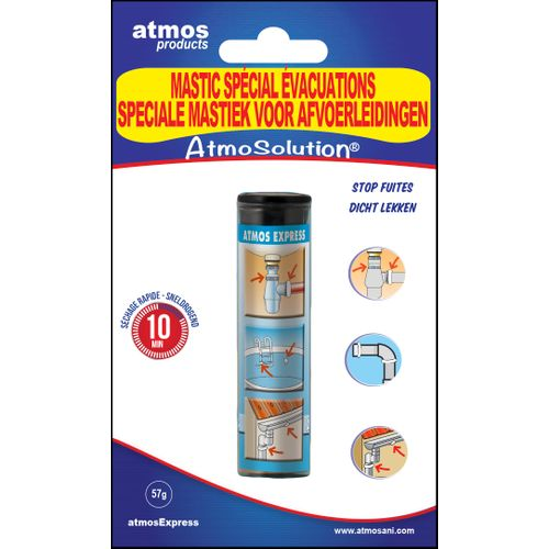 Pâte réparation spécial eau Atmos 'Express' 57 gr