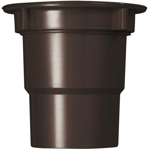 Martens uitloop + wartel bakgoot bruin