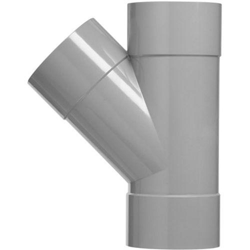 Martens PVC t-stuk 125x125mm 3xlm 45gr grijs