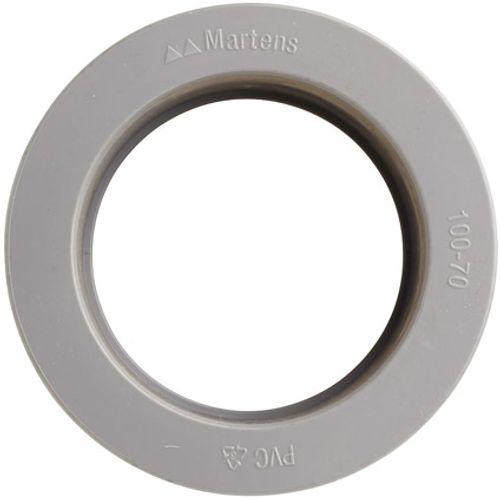 Martens verloop 70x100mm 1xlm grijs