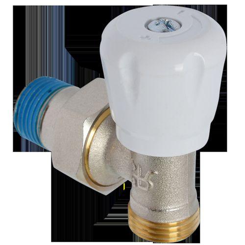 """Vanne radiateur multicouche courbé Sanivesk Pex 1/2""""Mx16mm"""