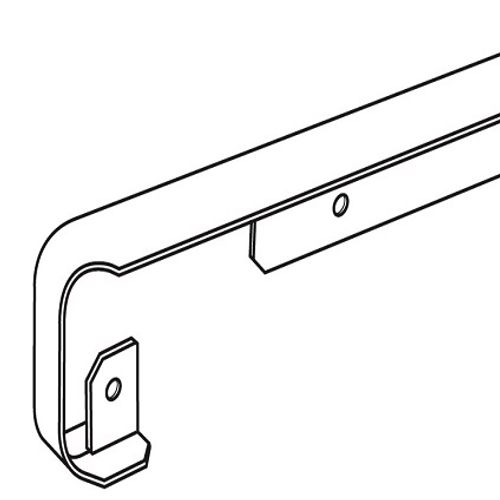 Profil d'angle Nordlinger aluminium 28mm