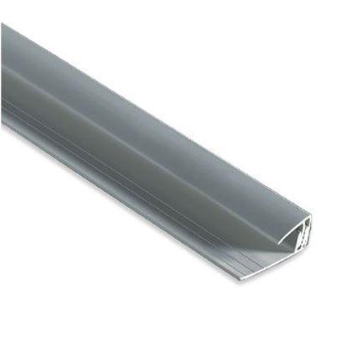 Dumaplast startprofiel PVC aluminium 260 cm