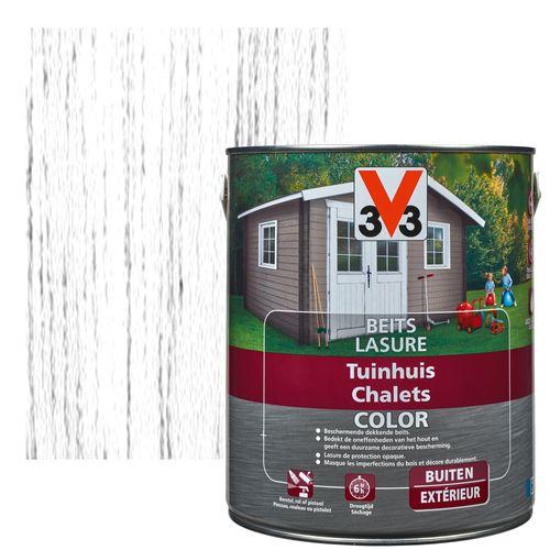 Lasure chalets V33 Color ice white satiné 750ml