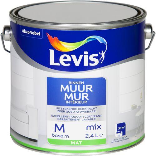 Muurverf Levis Binnenmuren base M mat 2,5L