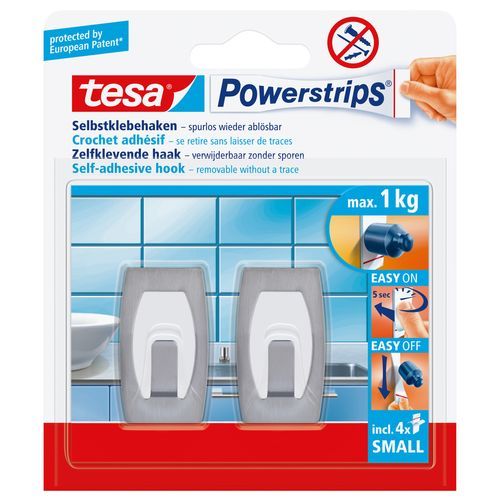Tesa Powerstrips zelfklevende haak 57999-00-02