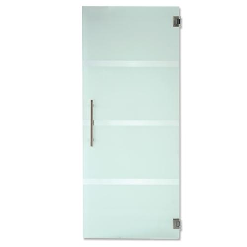 Porte en verre sécurit Thys 'Thytan T24' 83cm
