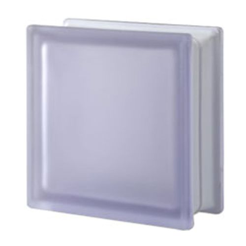Brique de verre Verhaert lila satiné