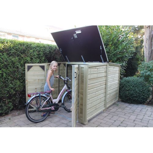 Lutrabox tuinkast fietsberging normaal 125x215x130cm