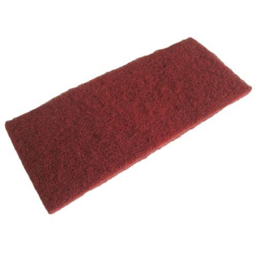 Eponge abrasive Sencys rouge