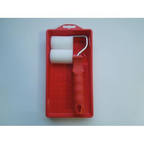 Sencys verfkit solventbasis 2x  mini rol 5cm