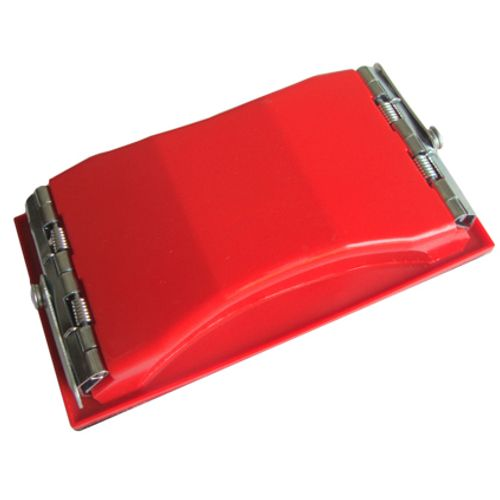 Handschuurblok klein rood